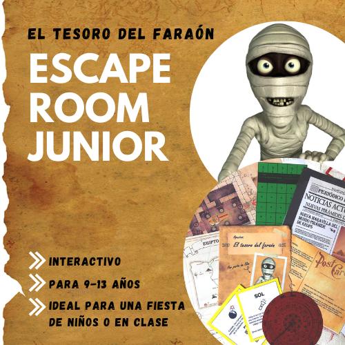 Escape Room El Tesoro del Faraón