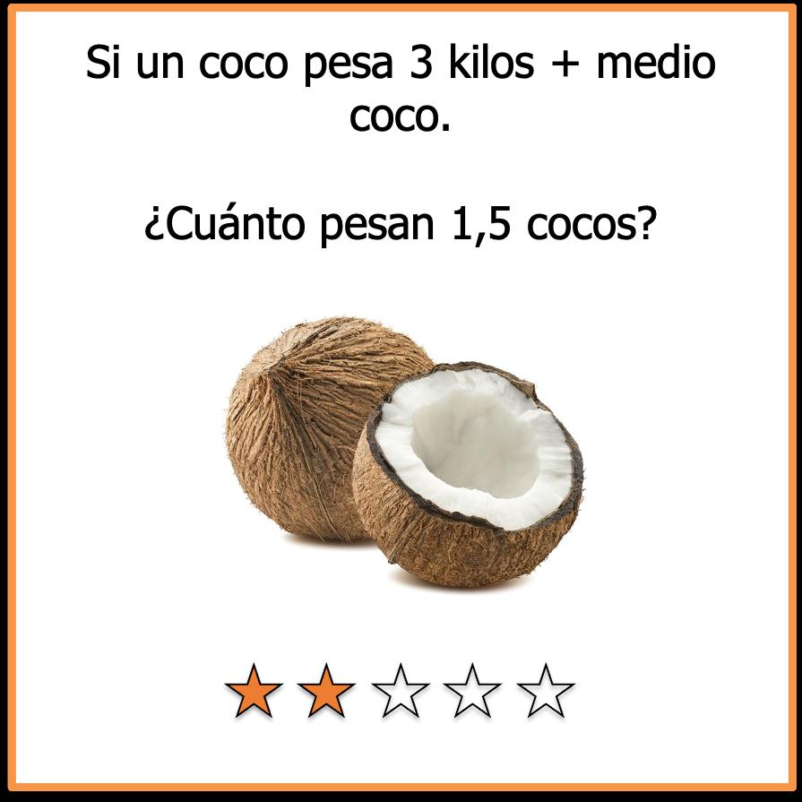 acertijos visuales matematico el coco