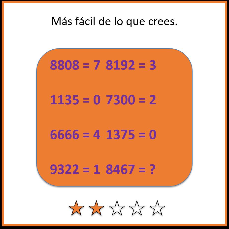 Acertijos matematicos 4