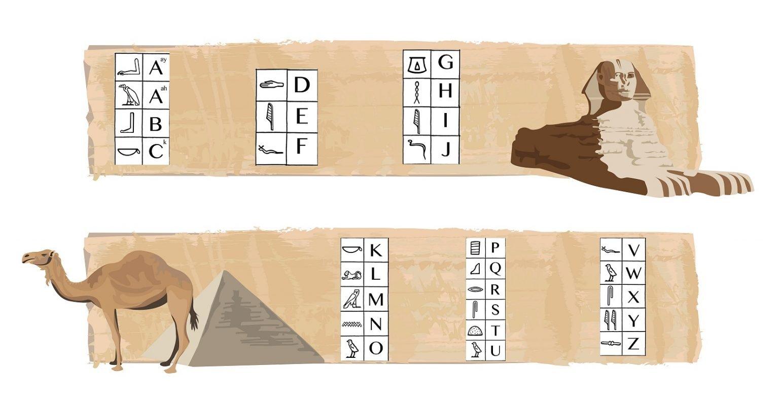 Hebreo, Chino o Jeroglíficos en tu Escape Room