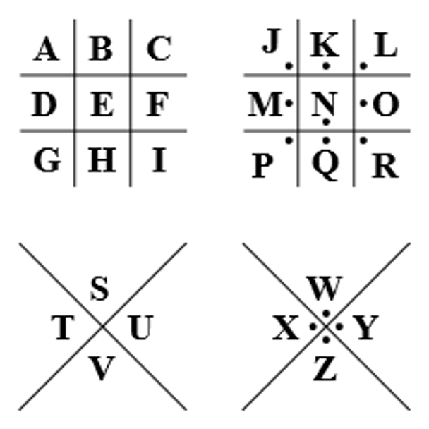 Un decodificador de cifrado francmasón